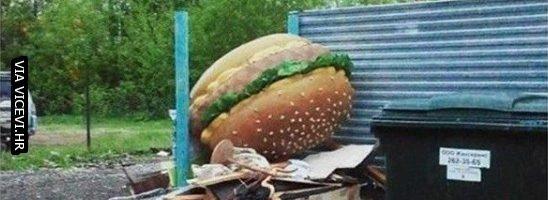 Mrzim kad ljudi bacaju hranu