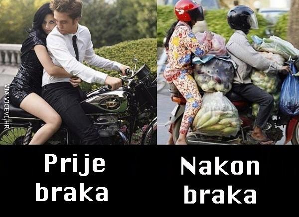 Život prije i poslije braka