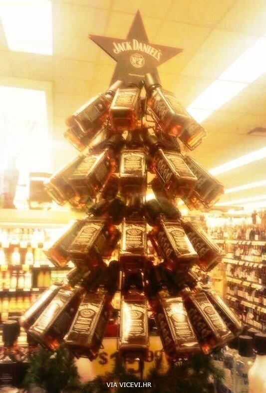 Najoriginalnije božićno drvce