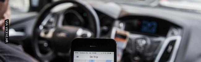 Kad vozač Ubera šuti cijelu vožnju